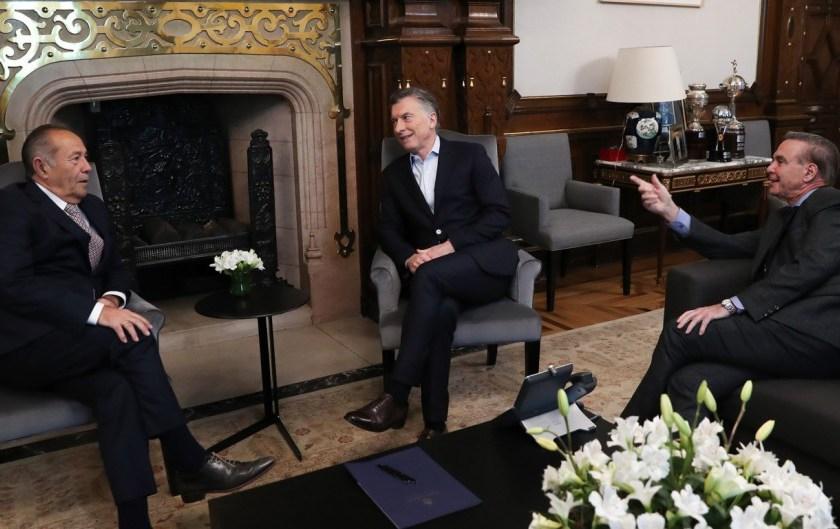ELECCIONES: Adolfo Rodríguez Saá se reunió con Macri y selló su pase al oficialismo