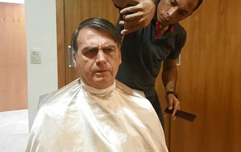 """Bolsonaro """" Humilla a Macron """" : Canceló una reunión con el canciller de Francia para ir a cortarse el pelo"""