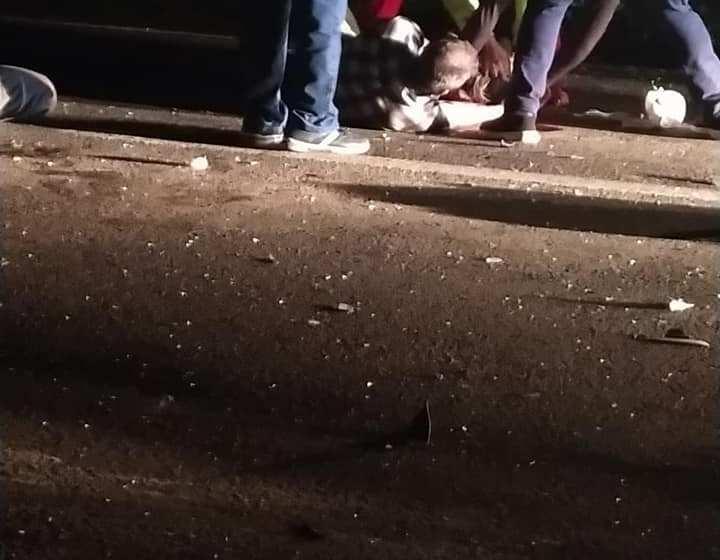 Un muerto en un accidente fatal en Choromoro, se les cruzo un caballo en la ruta