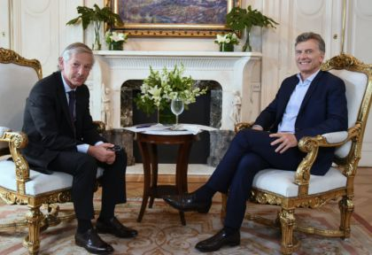 """El presidente Macri contra el sindicalismo argentino: """"Moyano deja a la gente sin trabajo, Palazzo es un prepotente y Biró un sinvergüenza"""""""