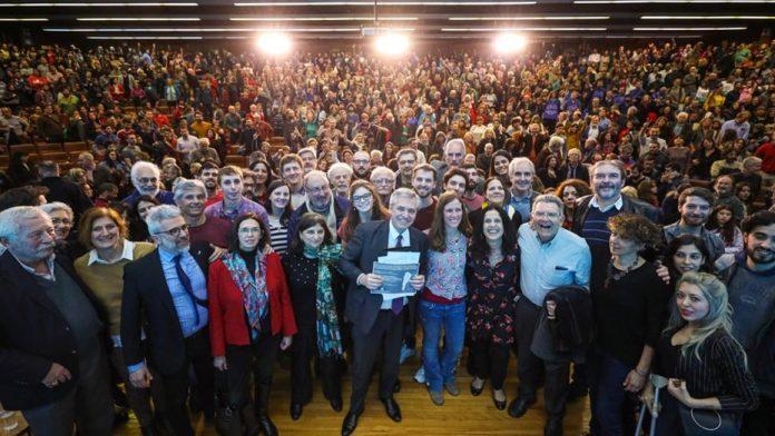 """Alberto Fernández, contundente: """"Vamos a crear el Ministerio de Ciencia y lo vamos a pagar con las Leliq"""""""
