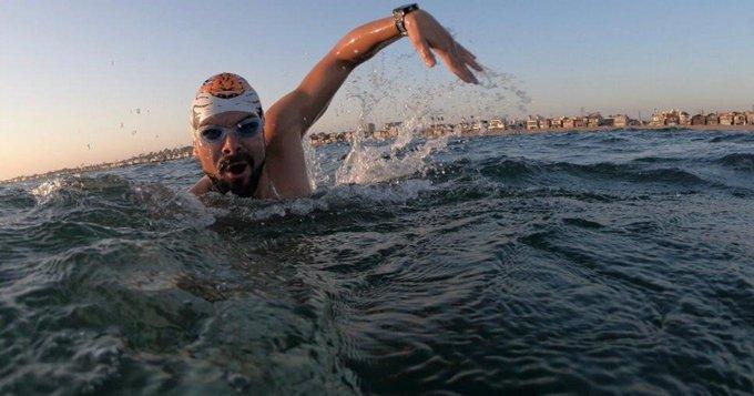 El tucumano Ola sufrió hipotermia y debió suspender su intento de cruzar el Canal de la Mancha