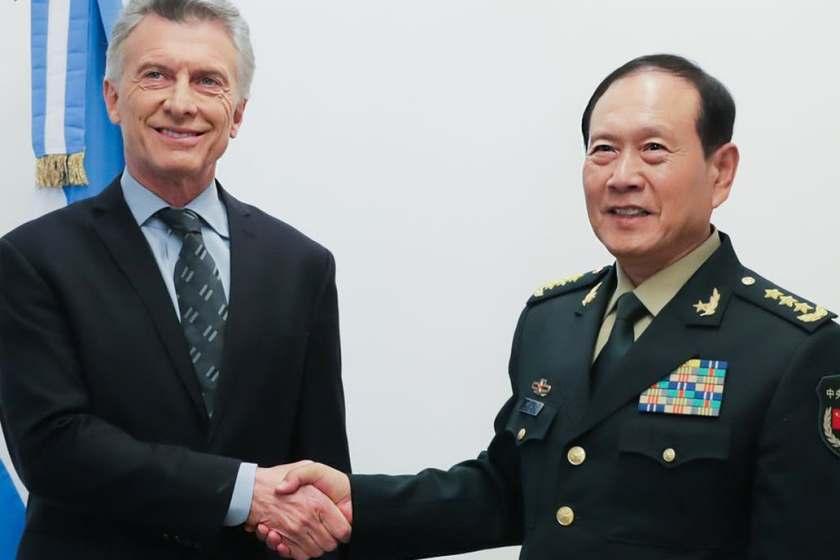 Macri, firmo un acuerdo y militares argentinos se formarán en academias del Ejército chino
