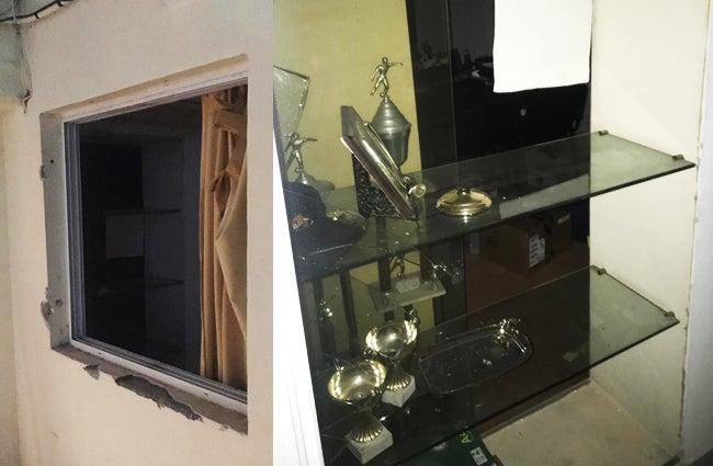 Asaltan las oficinas del estadio de ATLÉTICO: redujeron a guardias, desconectaron alarmas y abrieron las cajas fuertes
