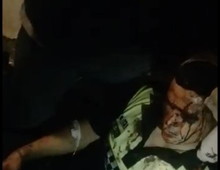 Le pegan un tiro en el pecho a un policía en el asalto a un colectivo, el efectivo intentó defender a los pasajeros(VIDEO)