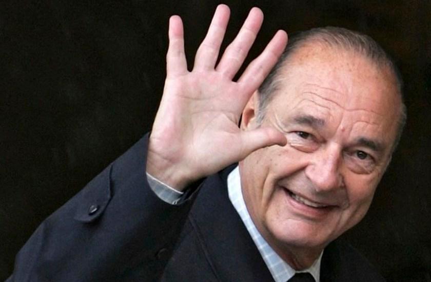 Murió el ex presidente francés Jacques Chirac