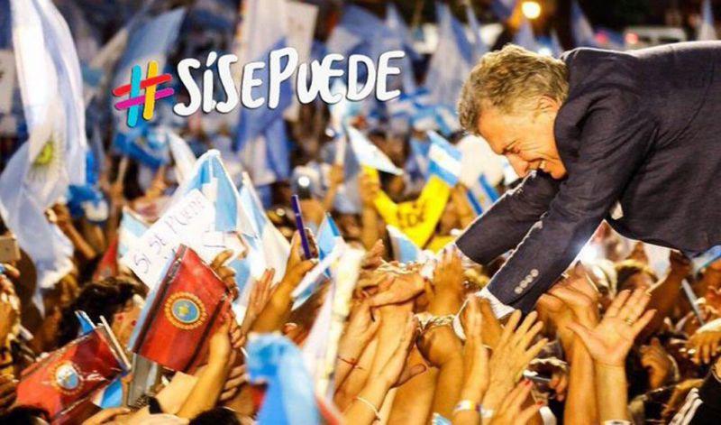 """Macri encabeza la """"marcha del millón"""" en el Obelisco para forzar un balotaje(EN VIVO)"""