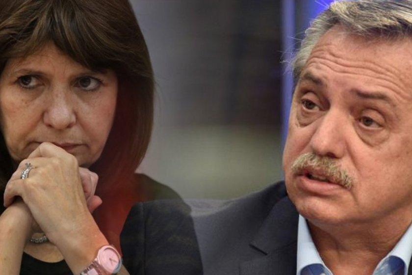 """"""" PELEA EN LAS REDES """": Entre  Alberto Fernández y Patricia Bullrich por la """"ley mentira"""""""