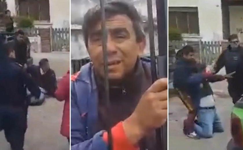 Un degenerado se masturbó delante de una nena 4 años, los vecinos le dieron feroz paliza(VIDEO)