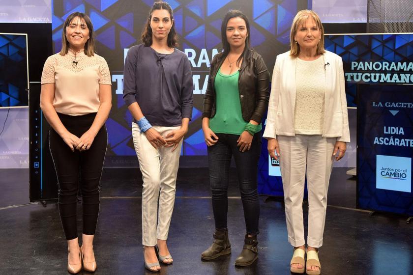 ELECCIONES: Cuatro candidatas a diputadas debatieron y hubo tensiones