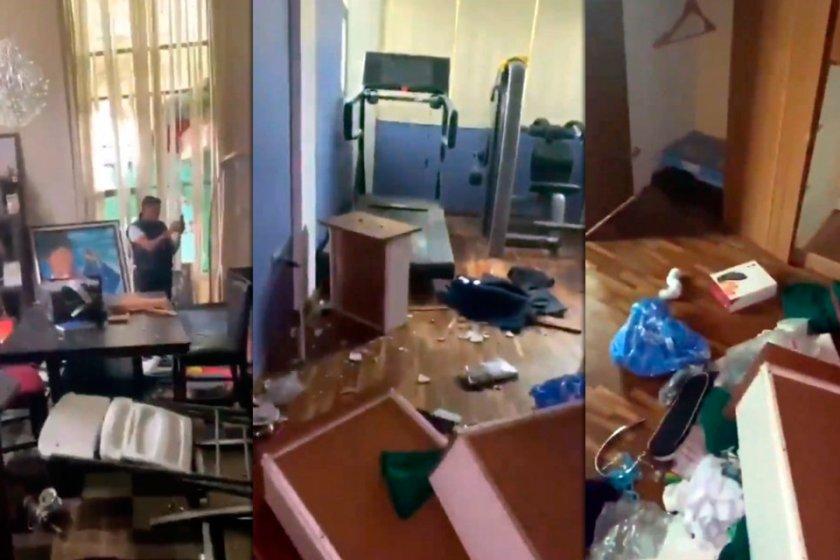 Ante la falta de gobierno en Bolivia: saquearon la casa de Evo Morales e incendiaron las de dirigentes opositores y periodistas