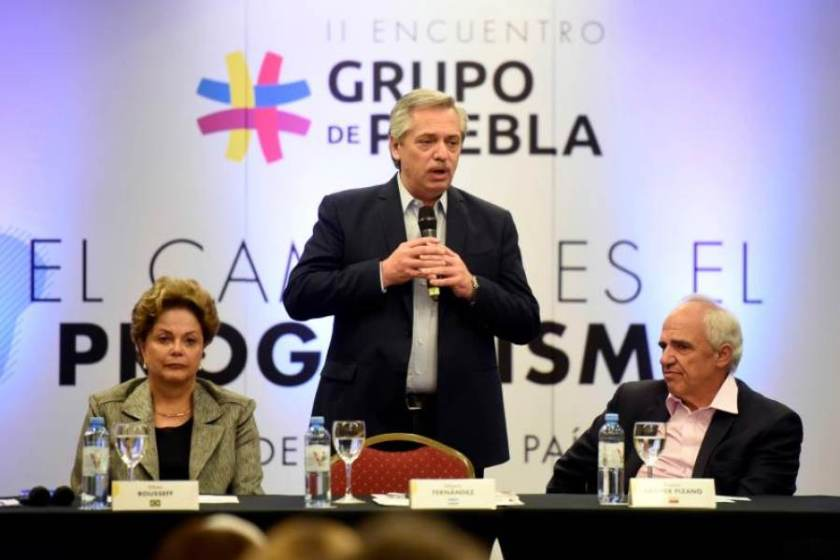 """Samper, """"Argentina debe ocupar el lugar de líder de Brasil"""""""