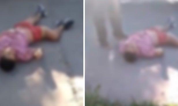 Motochorro murió tras ser chocado por un auto cuando escapaba, tras robar un celular a una mujer