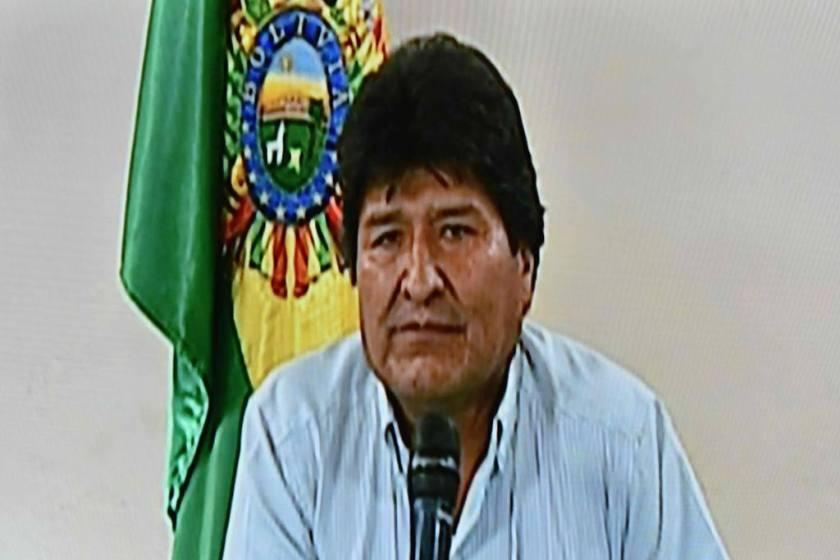 Tras su renuncia, Evo Morales se fue de La Paz y resistira desde Cochabamba