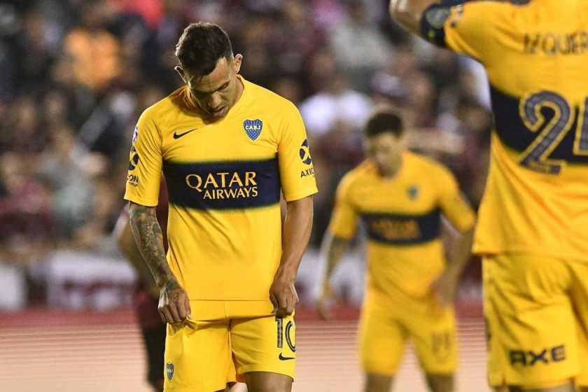 Boca, jugó muy mal, perdió con Lanús 2 a 1 y no es más líder