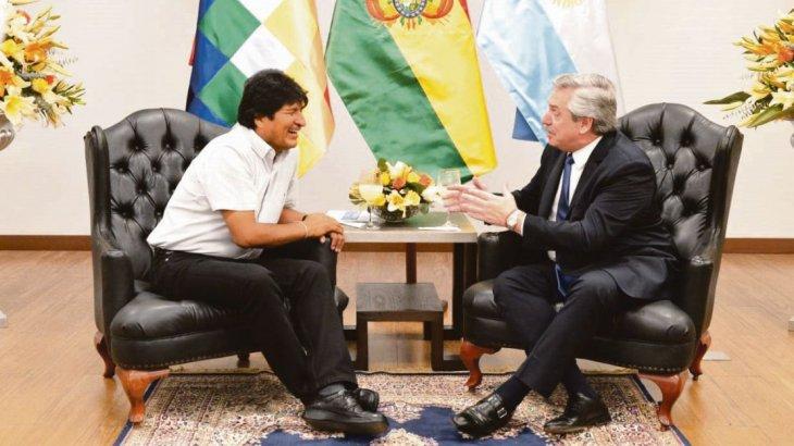 """Evo Morales está en la Argentina  y recibirá el estatus de """"refugiado"""""""