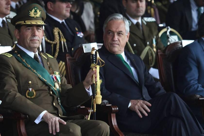 CHILE: El presidente Piñera defiende la labor de Carabineros durante la represión a las manifestaciones