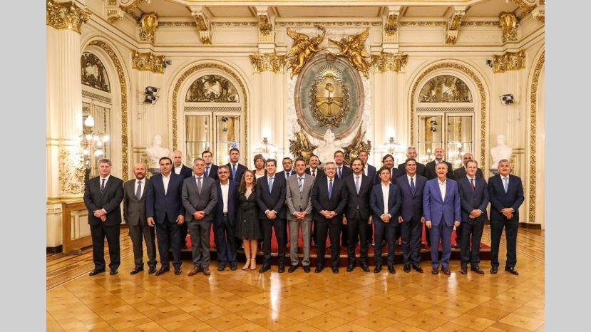 El presidente Fernandez firmó la suspensión del Pacto Fiscal con todos los gobernadores