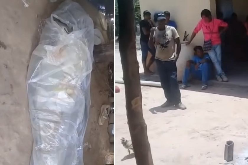 Tuvieron que enterrar a un hombre envuelto en plástico porque no podían pagar el ataúd