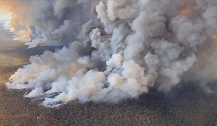 MEDIO AMBIENTE: El humo de los incendios de Australia llegó a la Argentina