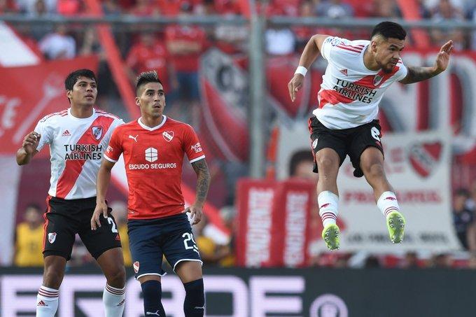 River le gano 2 a 1 a Independiente y es líder de la Superliga