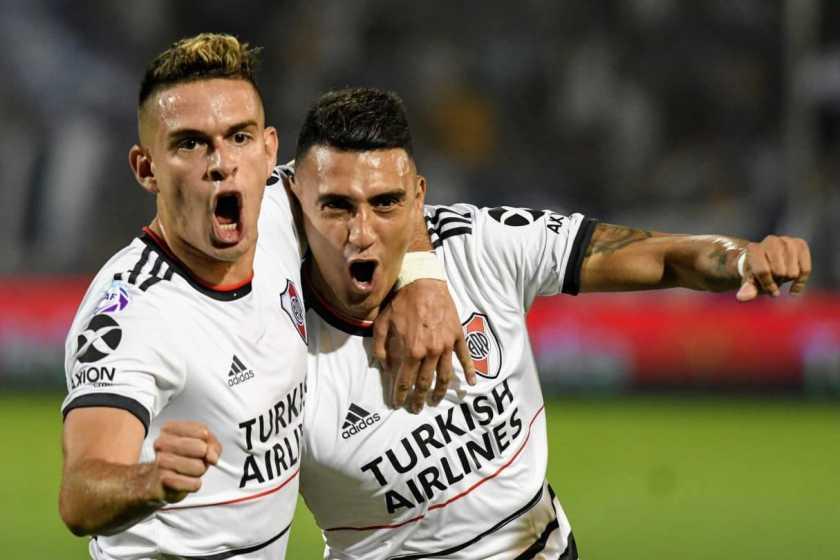 River le gano a  Godoy Cruz y es el único líder de la Superliga