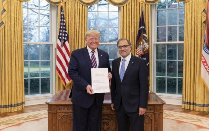 Trump apoyara a Fernandez en la renegociación de la deuda