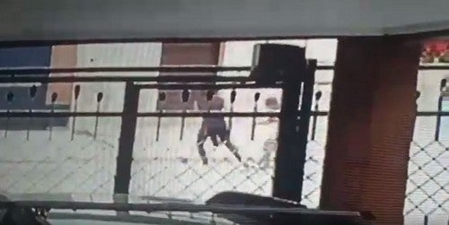 Una joven logro resistir violento ataque de motochorros en Aguilares (VIDEO)