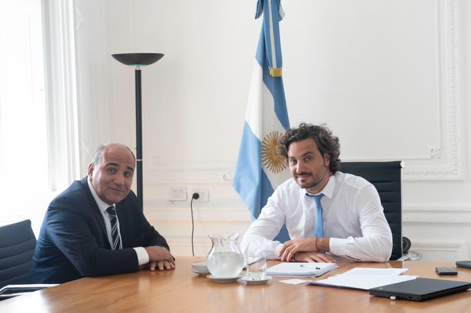Manzur se reunió nuevamente con Cafiero en Casa Rosada