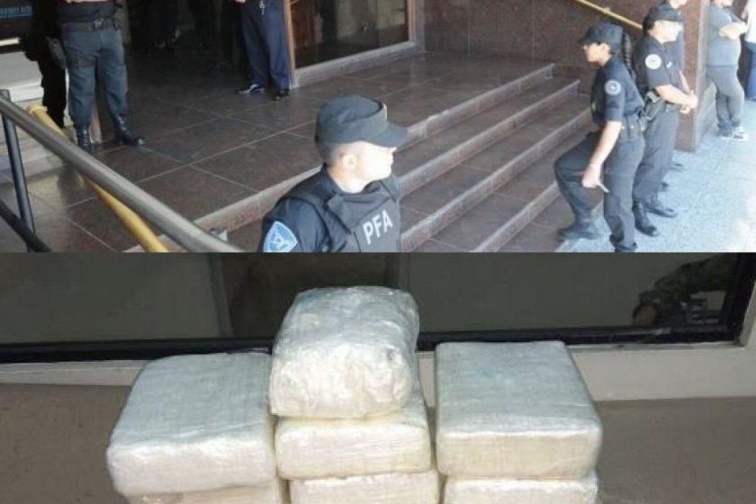 NARCOS: Desaparecieron dos kilos de cocaína de los Tribunales Federales de Tucumán