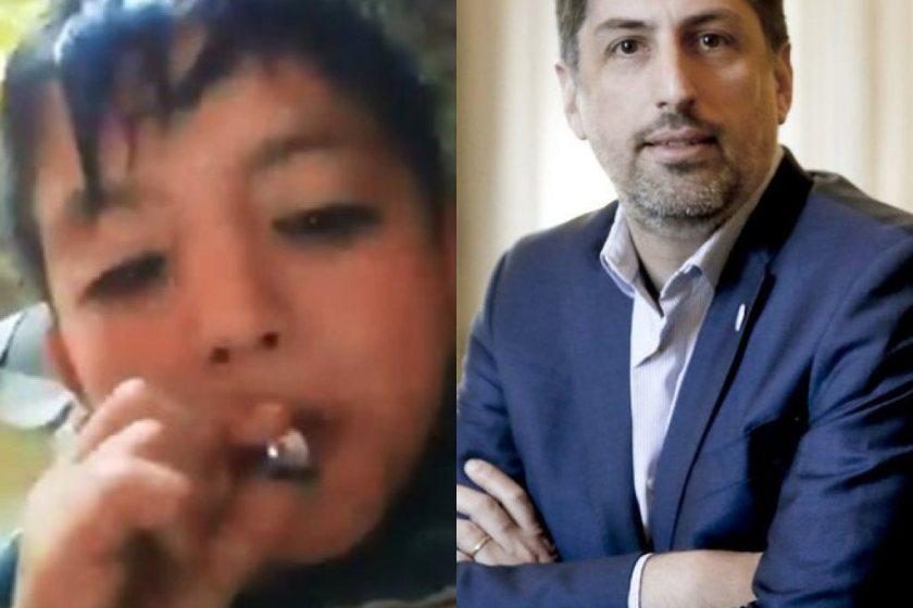 """Segun el ministro Trotta: """"No podemos perseguir chicos por fumar marihuana"""""""
