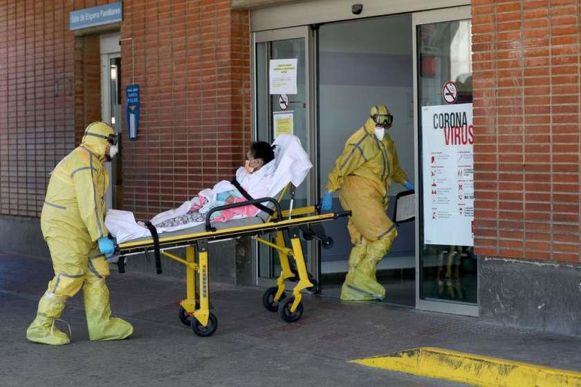 España, tuvo 769 muertos en 24 horas por CORONAVIRUS