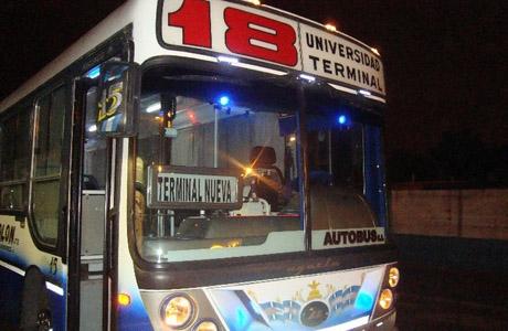 Tucuman: Un grupo de trabajadores de la Línea 18 decidieron no prestar el servicio