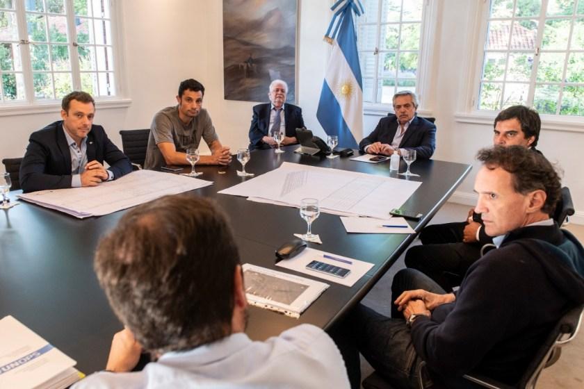 El presidente Fernández anunció que la red nacional de Hospitales Modulares de Emergencia se ampliará a 12