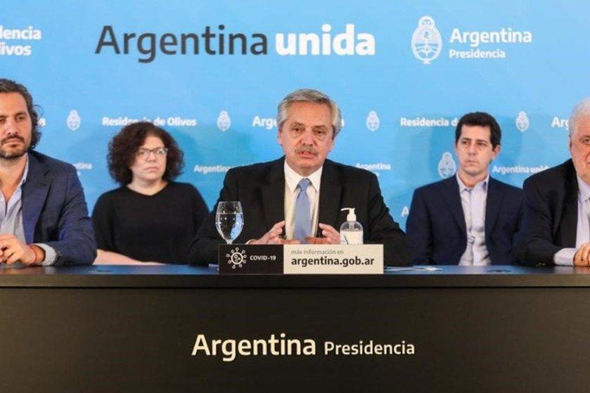 Argentina:El presidente Alberto Fernández anunció la prórroga de la cuarentena hasta el 10 de mayo pero flexibilizan las salidas de los hogares