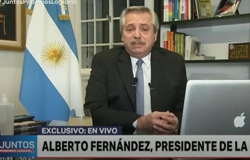 """Fernández: """"Tengo la triste noticia de decirles que no sé cuánto tiempo va a durar esto"""""""
