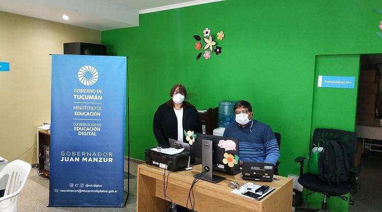 TUCUMAN: Los Puntos de acceso a contenidos digitales recorren la provincia