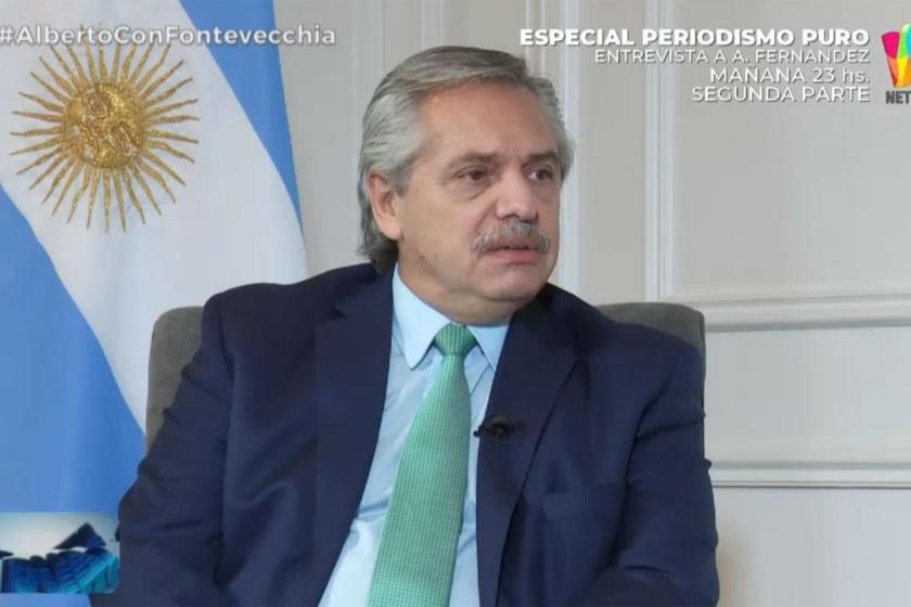 """El presidente Fernández sostuvo que prefiere """"un 10% más de pobres y no 100.000 muertos"""" por coronavirus"""