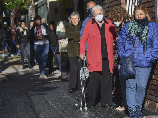 La jubilación mínima sera de  $16.864 , de acuerdo al aumento de 6,12 por ciento