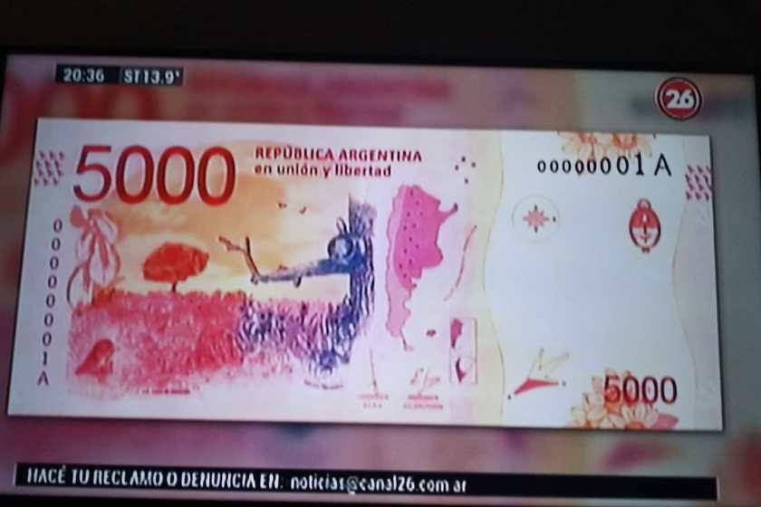 El presidente Fernández negó que se vaya a lanzar un billete de 5 mil pesos