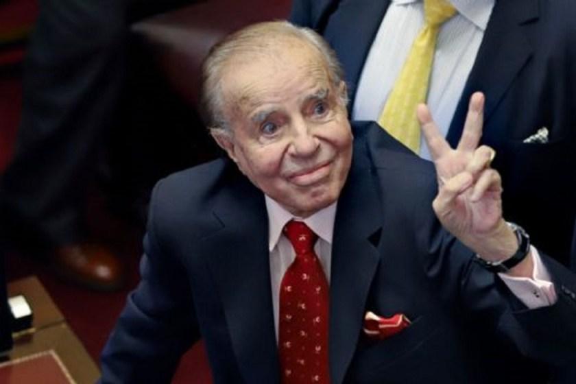 El ex-presidente Carlos  Saul Menem está en terapia intensiva del Instituto del Diagnóstico: dio negativo de coronavirus