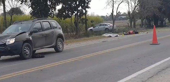 San Pablo: Motociclista falleció en un siniestro vial sobre la ruta 301
