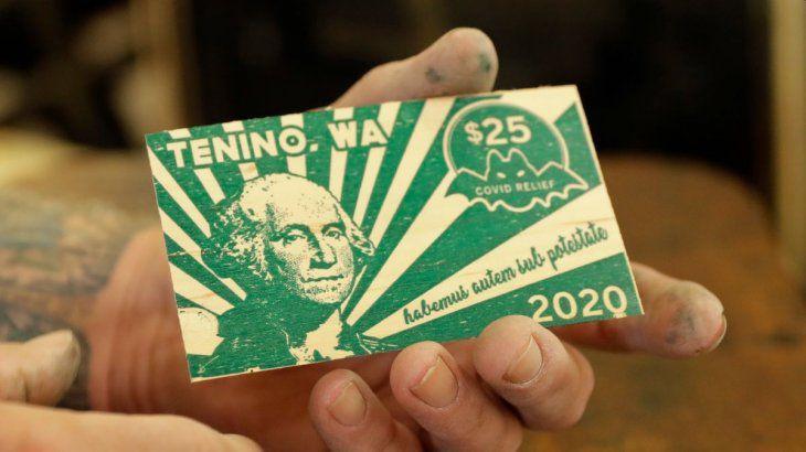 Las CUASIMONEDAS llegaron a EEUU: un pueblo imprimió su propio dinero por la crisis del coronavirus