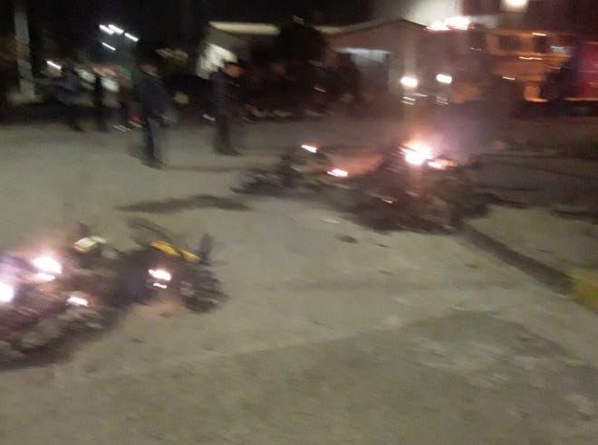 Continua la falta de seguridad en Tucuman: Delincuentes  atacaron en Villa Lujan a los vigías vecinales y les quemaron cuatro motos (videos)