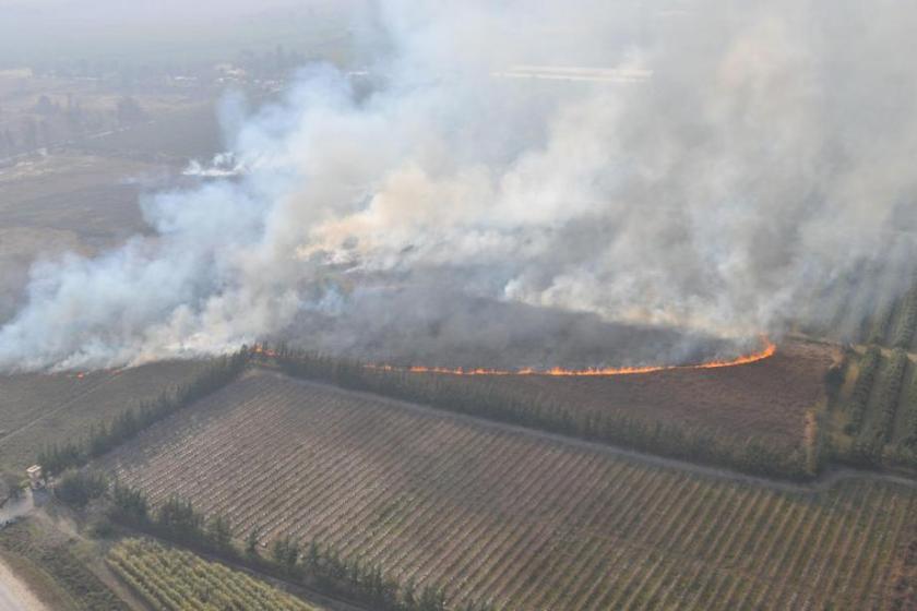 Al no haber sanciones , Defensa Civil ya registro mas de 1.000 denuncias de incendios en la provincia, esto produce cortes de luz y grave contaminación