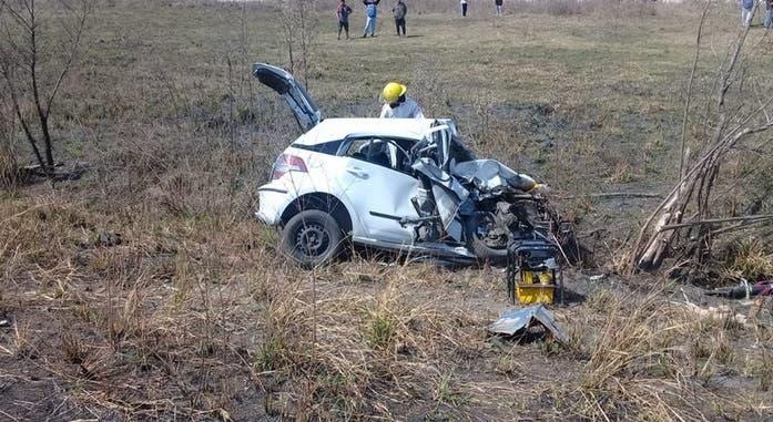 Muere una maestra en un accidente fatal en la ruta 38
