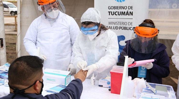 """"""" CORONAVIRUS EN TUCUMAN """": Hasta las 12 de hoy se detectaron 82 nuevos casos  y se acerca a los 1.500 contagiados"""
