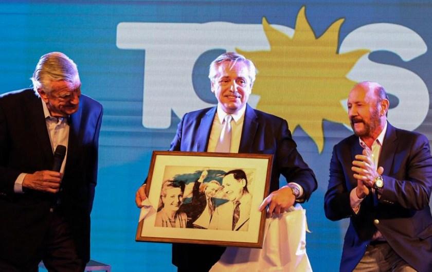 José Luis Gioja le ofreció a Alberto Fernández ser presidente del PJ