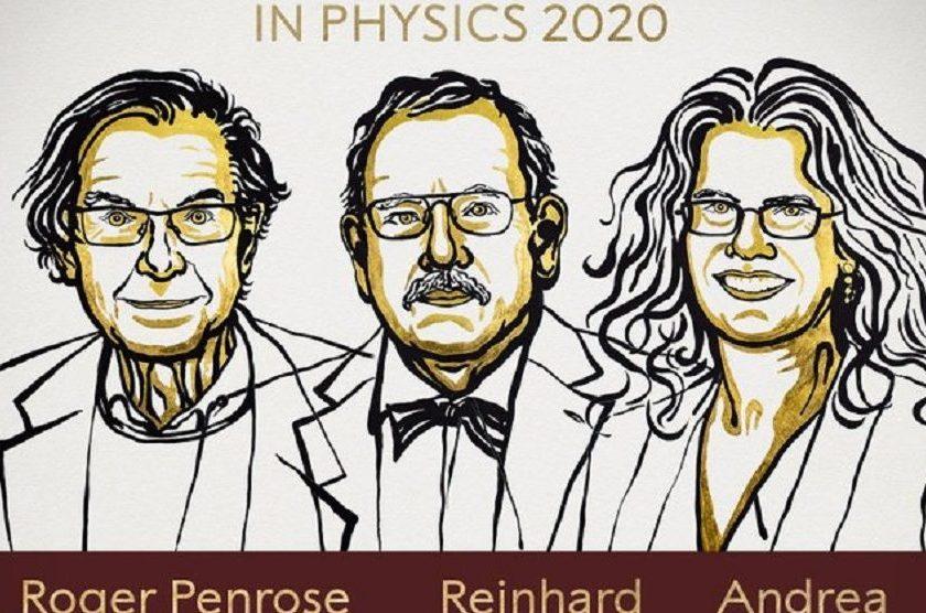 Nobel de Física :Fue otorgado a Roger Penrose, Reinhard Genzel y Andrea Ghez