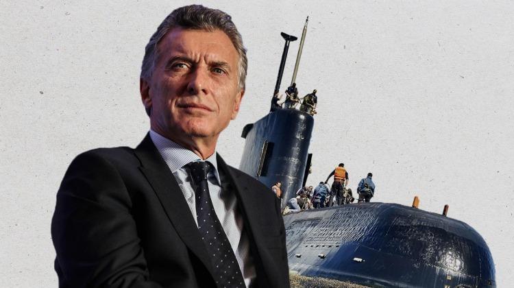 ARA San Juan: Macri conocía la ubicación del submarino hundido 20 días después de su desaparición